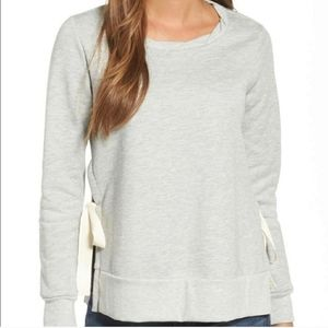 Gibson NWT Side Tie Pullover Large